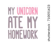"the inscription  ""my unicorn... 