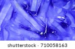 blue daub stripes with small... | Shutterstock . vector #710058163