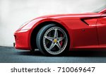red supercar | Shutterstock . vector #710069647