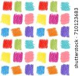 seamless pattern. pastel... | Shutterstock . vector #710123683