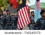 kota kinabalu malaysia august... | Shutterstock . vector #710165173