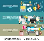 analytics information and... | Shutterstock .eps vector #710169877