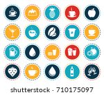 drink icons   Shutterstock .eps vector #710175097