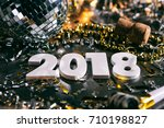 a series celebrating new year's ... | Shutterstock . vector #710198827