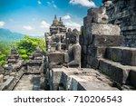 amazing view of ancient... | Shutterstock . vector #710206543