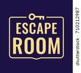 escape room. vector logo  icon  ...