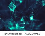 abstract digital background... | Shutterstock . vector #710229967