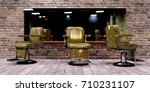 3d illustration of barber shop... | Shutterstock . vector #710231107
