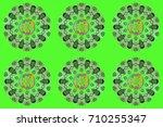 raster illustration. pattern... | Shutterstock . vector #710255347