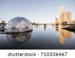 rotterdam  netherlands   august ... | Shutterstock . vector #710336467