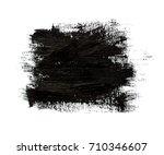 grunge paint stripe. vector... | Shutterstock .eps vector #710346607