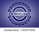 download emblem with denim high ...