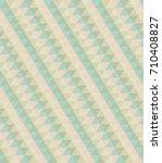 seamless retro diamond pattern | Shutterstock .eps vector #710408827
