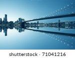 new york city manhattan skyline ... | Shutterstock . vector #71041216