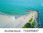 aerial photo. miami beach fl ... | Shutterstock . vector #710490847