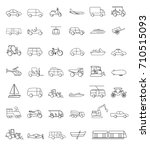 vector of various... | Shutterstock .eps vector #710515093