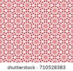 abstract heart seamless pattern.... | Shutterstock .eps vector #710528383
