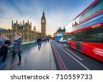 london  england   the iconic... | Shutterstock . vector #710559733