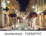 Narrow Street In Antibes  Cote...