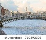dublin  ireland   november 08 ...   Shutterstock . vector #710593303