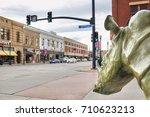 sheridan  usa   october 30 ... | Shutterstock . vector #710623213