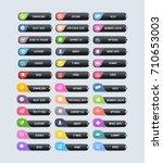 Black Colors Website Buttons ...