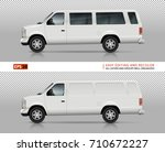 suv cars vector mock up for car ... | Shutterstock .eps vector #710672227