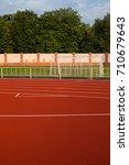 running stadium | Shutterstock . vector #710679643