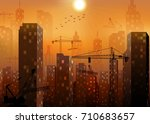 vector illustration of... | Shutterstock .eps vector #710683657