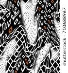 geometric pattern.abstract... | Shutterstock . vector #710688967