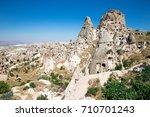 mountain landscape. cappadocia  ... | Shutterstock . vector #710701243