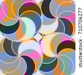 abstract colorful pattern for... | Shutterstock .eps vector #710706277