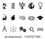 science research and study... | Shutterstock .eps vector #710707783