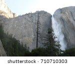 Yosemite Falls Thunders Down...