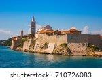 view of beautiful resort town... | Shutterstock . vector #710726083