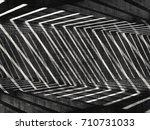 abstract concrete digital... | Shutterstock . vector #710731033