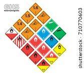 transportation warning and... | Shutterstock .eps vector #710770603