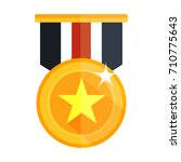 win medal icon | Shutterstock .eps vector #710775643
