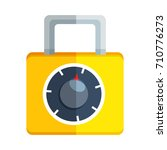 lock icon | Shutterstock .eps vector #710776273