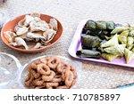 porridge tie | Shutterstock . vector #710785897