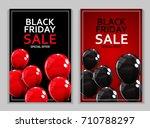 black friday sale banner... | Shutterstock .eps vector #710788297