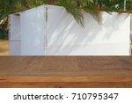 jewish festival of sukkot.... | Shutterstock . vector #710795347