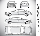 automobile.template for graphic ... | Shutterstock . vector #710854423