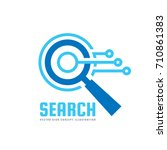 seo   search engine... | Shutterstock .eps vector #710861383