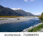 a creek during autumn in new... | Shutterstock . vector #710888593