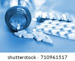 pills and another drugs for... | Shutterstock . vector #710961517