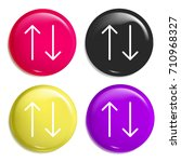 sort multi color glossy badge...