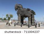 canakkale  turkey   july 02 ...   Shutterstock . vector #711004237