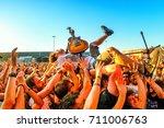 madrid   jun 23  every time i... | Shutterstock . vector #711006763