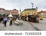 brno  czech republic   june 17  ... | Shutterstock . vector #711032323